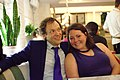 Portrait from Wikimania 2017 — 30 — Jami Mathewson and Lane Rasberry.jpg