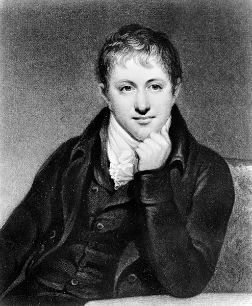 File:Portrait of Sir Humphry Davy, 1st Baronet, FRS (1778 – 1829), Wellcome M0004638.jpg