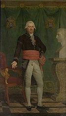 Portret van burggraaf Karel Aeneas de Croeser, burgemeester van Brugge