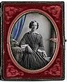 Portret van een jonge vrouw Portret van een onbekende jonge vrouw, RP-F-F14459-A.jpg
