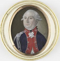 Portret van een officier, vermoedelijk R.T. van Kruissen