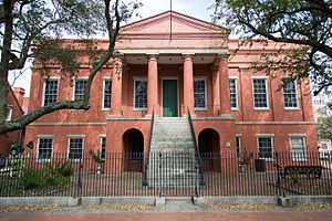 Portsmouth, Virginia - Built in 1846, the Portsmouth Courthouse is a historic landmark in the center of the Olde Towne Historic District.