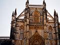 Portugalia Batalha fasada kosciola gotyk plomienisty 02.jpg