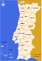 Portuguese Districts Map With Names.svg