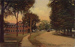 Centerbrook, Connecticut - Main Street, Centerbrook, from a postcard mailed in 1910