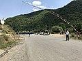 Poste-frontière Arménie-Karabagh sur la route Vardenis-Mardakert -2.JPG