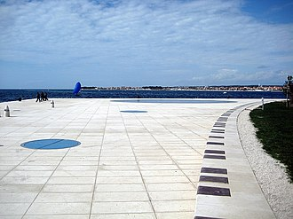 Monument to the Sun - Monument is located on the western point of the Zadar peninsula