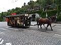 Průvod tramvají 2015, koňka 90, u tunelu (01).jpg