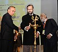 Prakash Javadekar lighting the lamp at the Conference on 'Quality Initiatives in Technical Education', organised by All India Council for Technical Education (AICTE), in New Delhi.jpg