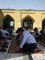 Prayers of Noon - Grand Mosque of Nishapur -September 27 2013 47.JPG
