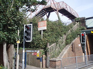 Portchester railway station - Image: Prch Stn P1010012