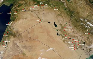 Medio Oriente Cartina Fisica.Vicino Oriente Antico Wikipedia