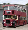 Preserved Cheltenham & District bus 6037 (802 MHW) 1961 Bristol Lodekka FSF ECW, 11 May 2011.jpg