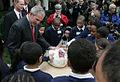 President Bush in National Thanksgiving Turkey Ceremony 2 (2007).jpg