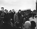 President John F. Kennedy, Prime Minister of India Jawaharlal Nehru, and Others During Arrival Ceremonies.jpg