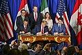 President Trump Participates in the USMCA Signing Ceremony (32244728588).jpg