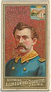 President of Costa Rica, from World's Sovereigns series (N34) for Allen & Ginter Cigarettes MET DP838686.jpg