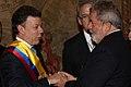 Presidente Santos Saluda a Presidente Lula.JPG