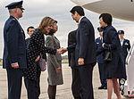 Prime Minister of Japan Shinzo Abe arrives at Joint Base Andrews 150427-F-WU507-056.jpg