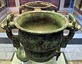Primo periodo degli zhou dell'est, contenitore rituale in bronzo (kang hou gui), XI sec. ac..JPG