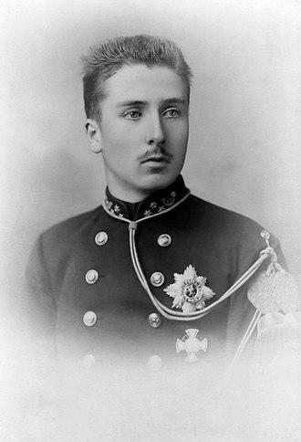 Prince Baudouin of Belgium - Image: Prince Baudouin (1869 1891) nb crop