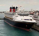 Prince George Wharf in Nassau Harbor (Disney Wonder).jpg