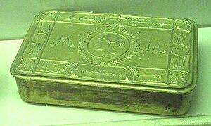 Mary, Princess Royal and Countess of Harewood - The 1914 Christmas gift box.
