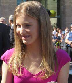 La duchesse de Brabant en 2017.