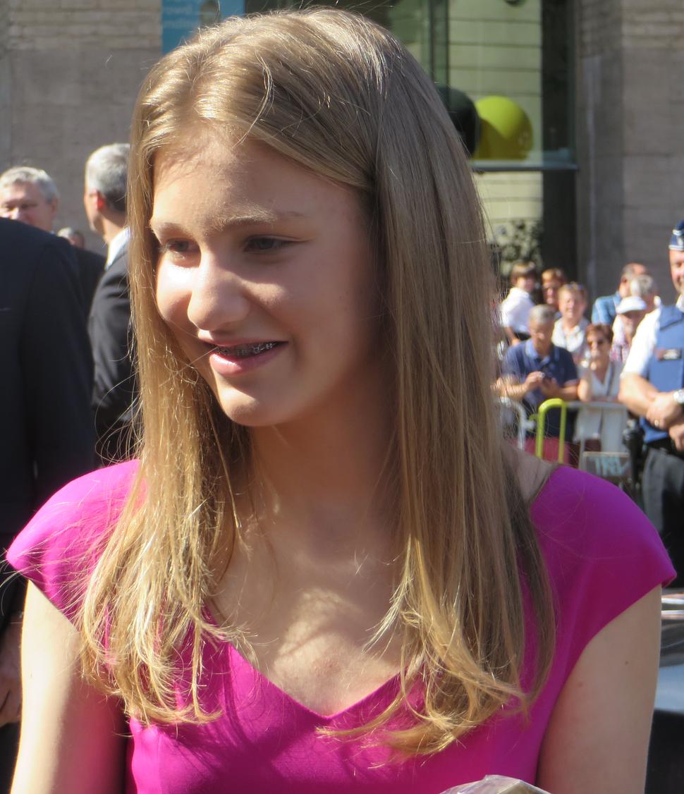 Prinses Elisabeth op 21 juli 2017