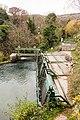 Prise d'eau, centrale hydroélectrique de Roški Slap, comitat de Šibenik-Knin, Croatie.jpg