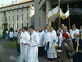 Procession of indulgence in the Parish of Our Lady of the Rosary in Kraków (Piaski Nowe) 4.JPG