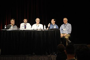 Jeffrey Snover - Professional Developers Conference 2009 Technical Leaders Panel (Second Left)