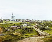 The Village of Kolchedan in the Ural Mountains in 1912