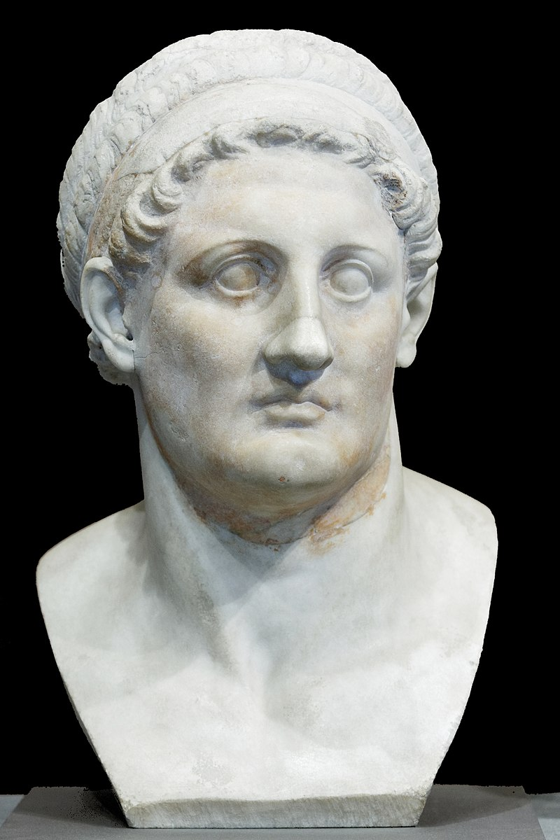 Buste de Ptolémée Ier Sôter, musée du Louvre.