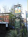 Pub sign by the road - geograph.org.uk - 1632694.jpg
