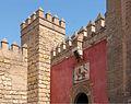 Puerta del Leon murailles Alcazar Seville Spain.jpg