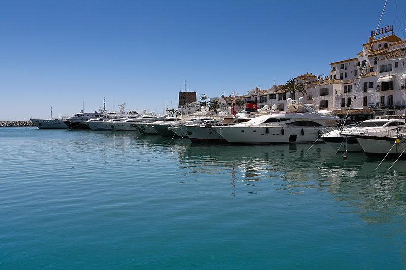 File:Puerto Banus Marina, Marbella - Spain.jpg