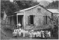 Puerto Rico. A rural school. Rented building. - NARA - 542390.tif