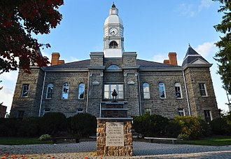Pulaski County, Virginia - Image: Pulaski County Courthouse