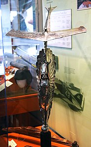 Pulitzer Trophy - front view - Smithsonian Air and Space Museum - 2012-05-15.jpg