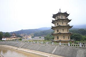 Putian - Image: Putian Guanghua Si Shijiawenfo Ta 20120302 26
