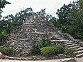 Pyramid in Xcaret - panoramio.jpg