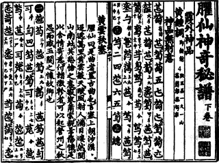 Chinese musical notation
