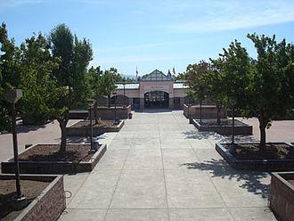 Elsie Allen High School - Image: Quad 3