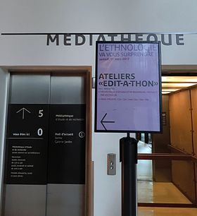 Image illustrative de l'article Edit-a-thon Quai Branly