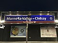 Quai RER A Gare Marne Vallée Chessy Seine Marne 7.jpg
