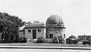 Higher education in Ontario - The observatory at Queen's University c. 1923