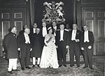 Queen Elizabeth II and the Prime Ministers of the Commonwealth Nations, at Windsor Castle (1960 Commonwealth Prime Minister's Conference).jpg