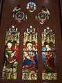 Quimper 128 Vitrail Vierge à l'Enfant Musée départemental breton.JPG