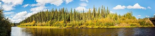 Río West Fork Dennison, Alaska, Estados Unidos, 2017-08-28, DD 103-108 PAN.jpg